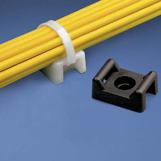 Cable Tie Mount 22mm 100pk