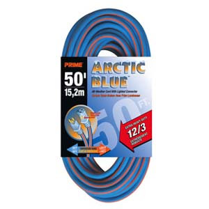 50Ft 12/3 Extreme Temperature Cord