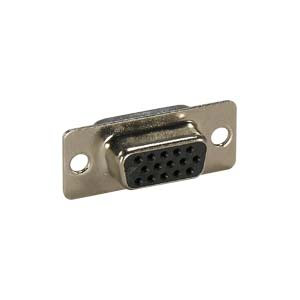DB15 HD Female Solder Cup Connector