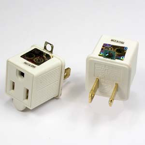 3 Prong to 2 Prong Adapter