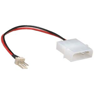 5 inch 3Pin Fan to 4Pin Power Adapter Cable