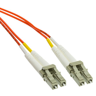 1m LC-LC Duplex Multimode 62.5/125 Fiber Optic
