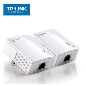 AV200 Powerline Adapter with AC Pass Through Starter Kit TP-Link PA2010Kit