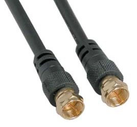 3Ft F-Type Screw-on RG6 Cable