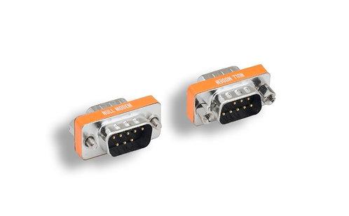 DB9 M/M Null Modem Mini Adapter