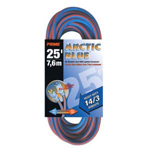 25Ft 14/3 Extreme Temperature Extension Cord