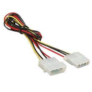 2Ft 4Pin M/F Power Supply Extension Cable