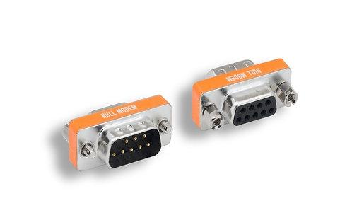 DB9 M/F Null Modem Mini Adapter
