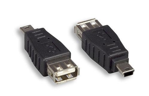 USB 2.0 Type A to Mini 5 Pin Adaptor