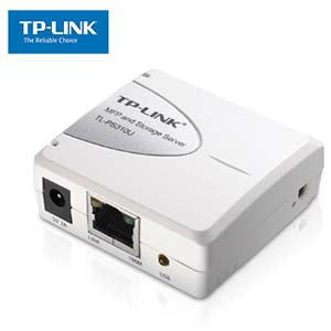 Network Print and Storage Server w/ 1 USB2.0 Port TP-Link PS310U