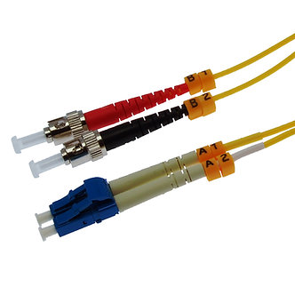 7m LC-ST Duplex Singlemode 9/125 Fiber Optic Cable