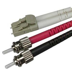 2m LC-ST Duplex Multimode 50/125 Fiber Optic