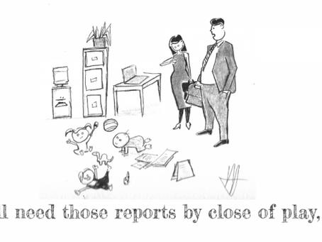 Cartoon: #BusinessSpeak