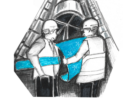 Cartoon: Blueprint One