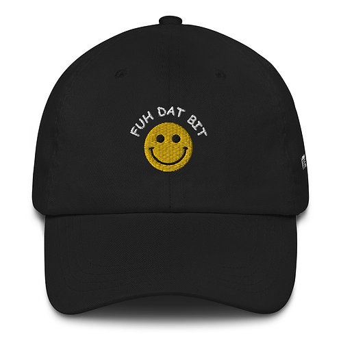 FUH DAT BIT HAT - BLACK