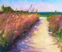 Siesta Key, Pink Grass