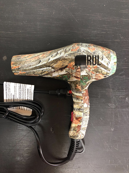 RUL Camo Professional Hair Dryer