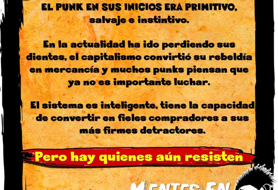 El punk era primitivo