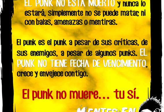 El punk no esta muerto