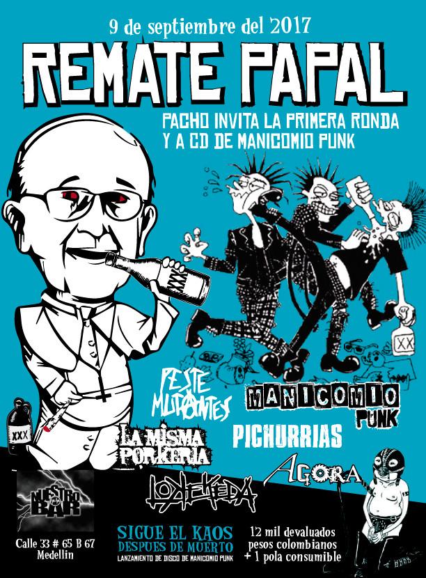 Concierto Remate Papal