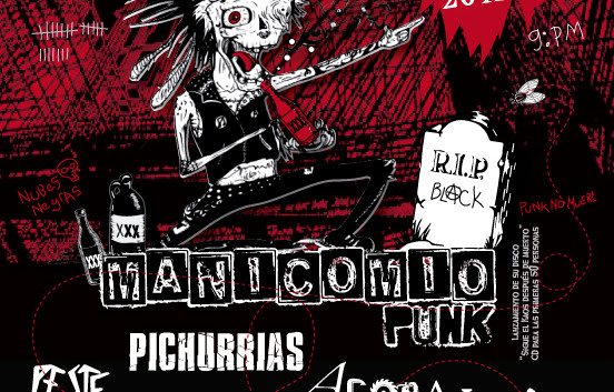 Concierto Manicomio Punk