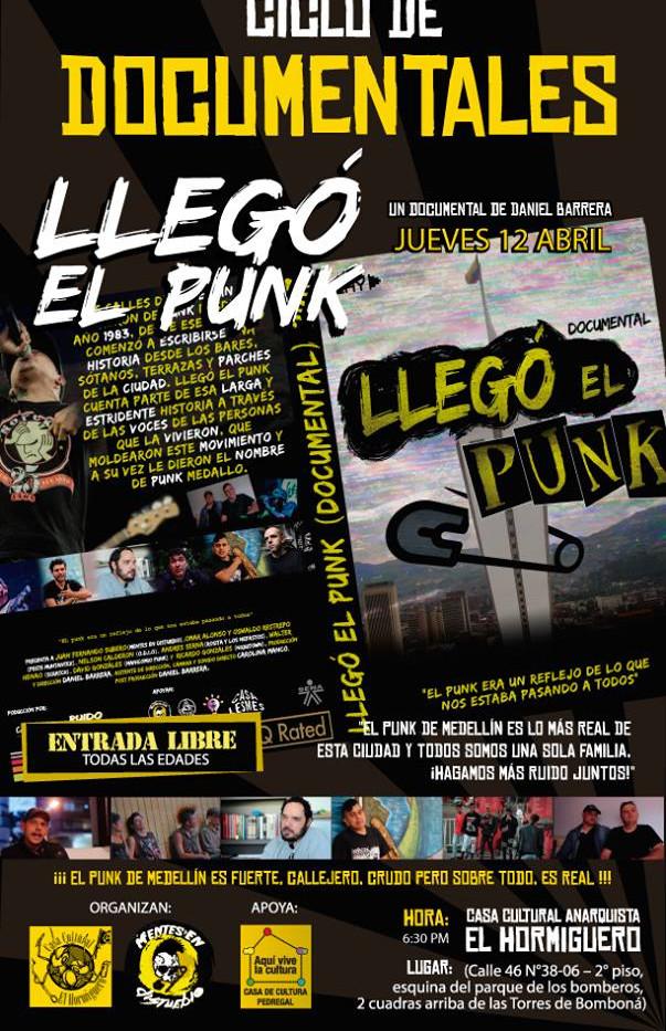 Llego el Punk