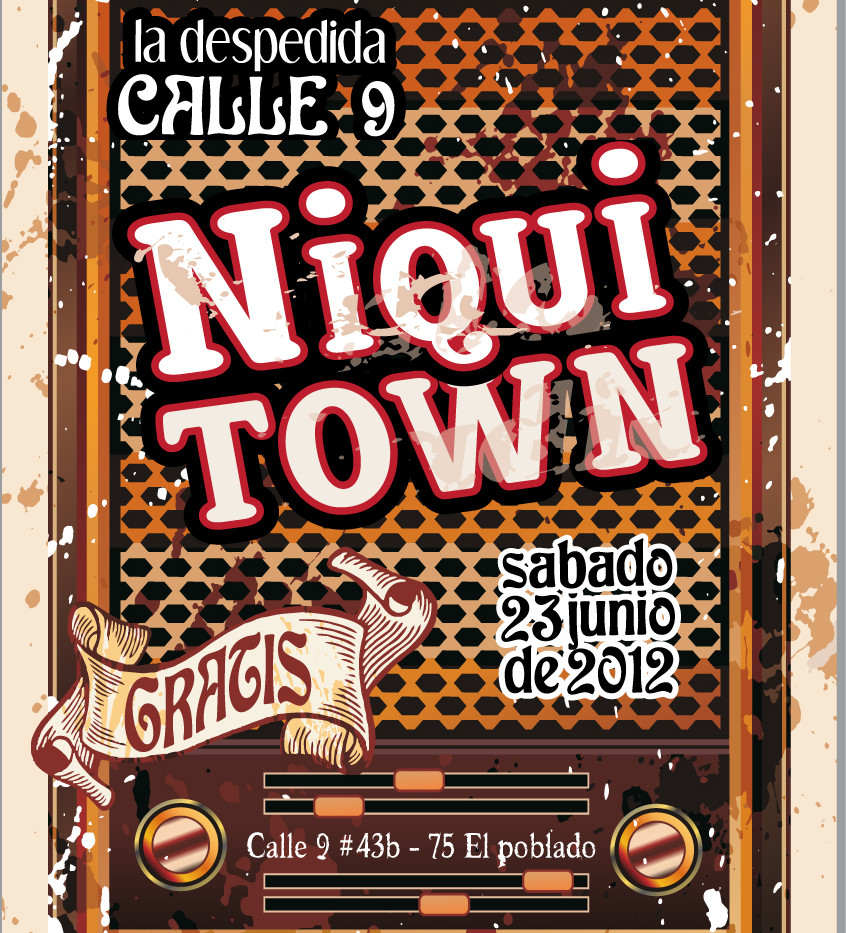 Concierto Niquitown Despedida Calle 9
