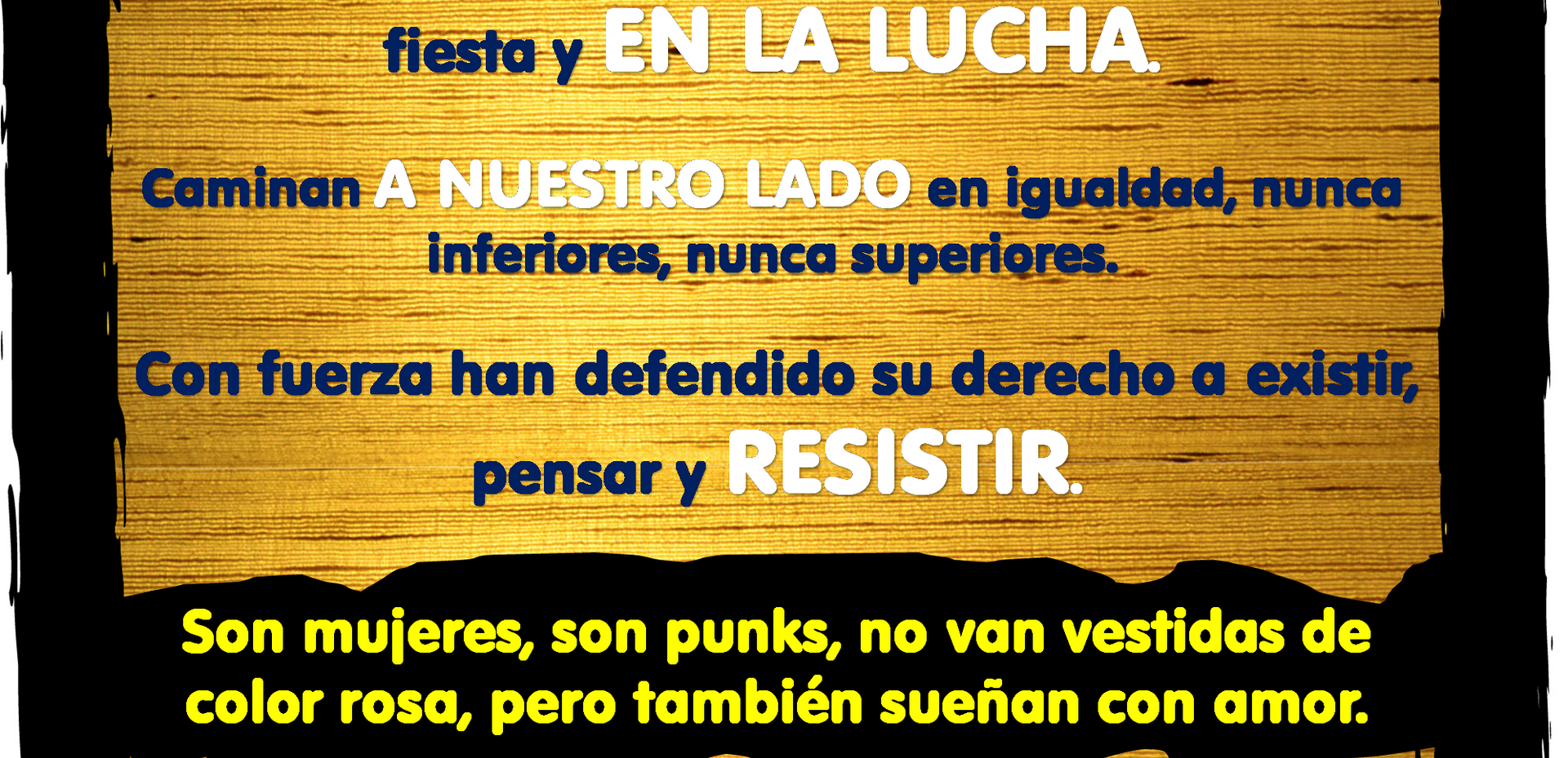 Mujeres en el punk