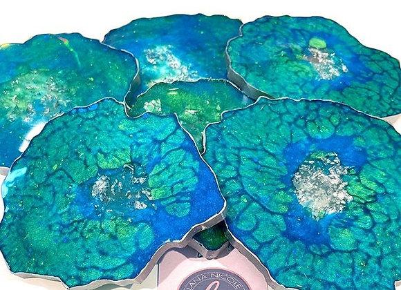 Agate Coasters - Round