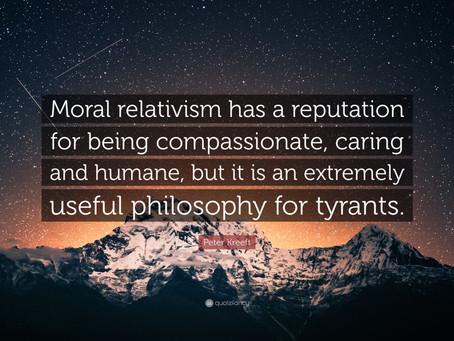 Moral Relativism Doesn't Make Sense