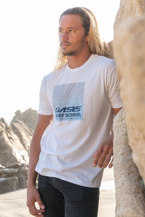 Men's Oasis White T-Shirt