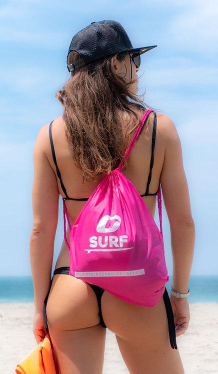 Oasis Pink Beach Bag