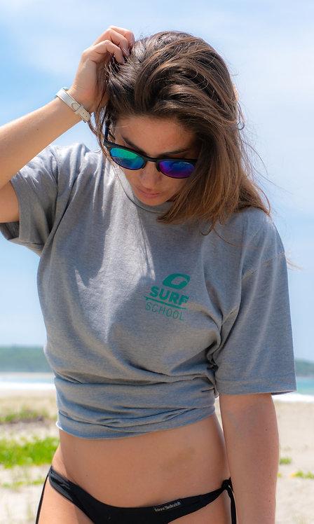 Women's Grey Oasis Surf School T-Shirt