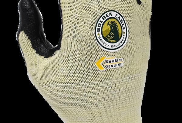 Guante anti-corte A2 Kevlar® y nylon recubierto nitrilo T10 Golden Eagle 10030