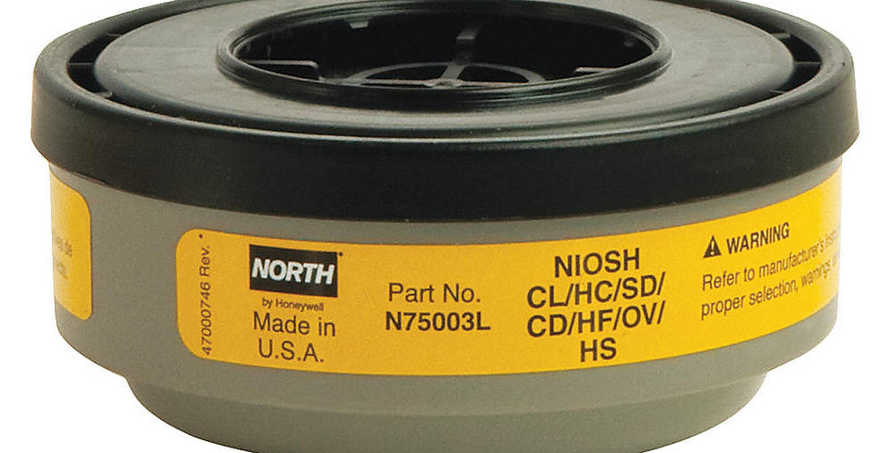 Cartucho de vapor orgánico y gases ácidos Honeywell N75003