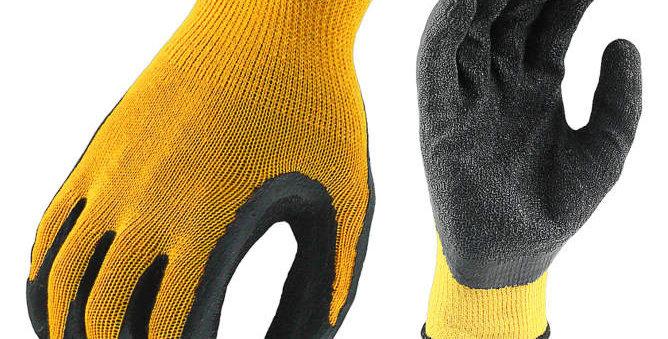Guante de pinza recubierto de caucho texturizado DEWALT DPG70