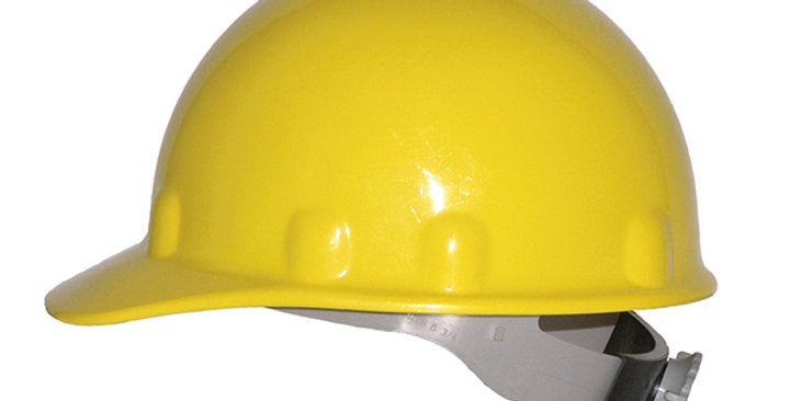 Casco Fibre-Metal amarillo Honeywell E2QRW02A000