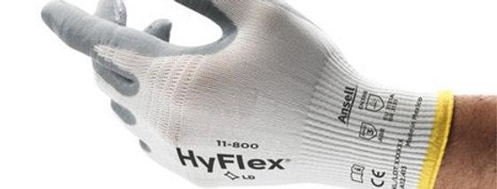 Guante nylon recubierto espuma de nitrilo HyFlex® ANSELL 11-800