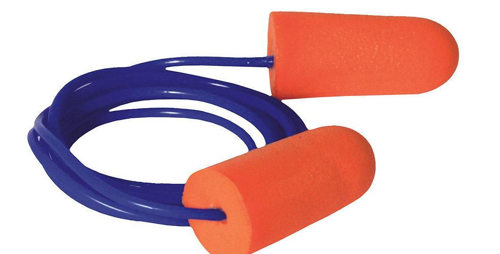 Tapón auditivo desechable con cordón Radians FP71