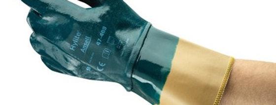Guante algodón recubierto total de nitrilo T 10 ANSELL 47-409