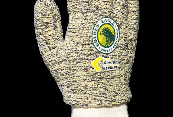 Guante anti-corte A2 Kevlar y algodón tipo toalla puño cal. GE 9301T