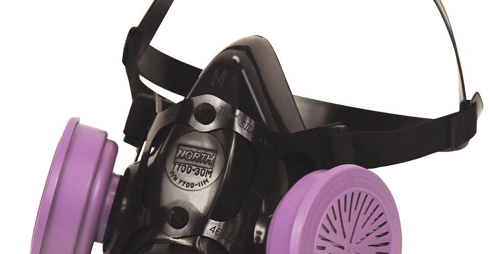 Respirador media cara de silicón TL Honeywell 7700