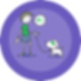 Dog training app   onboarding image 1