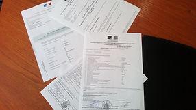 Documents homologation voitures importée