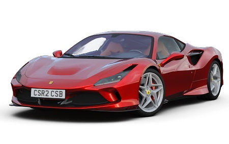 FERRARI F8 TRIBUTO FOR RENT