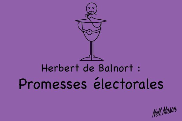 Herbert de Balnort : Promesses Électorales