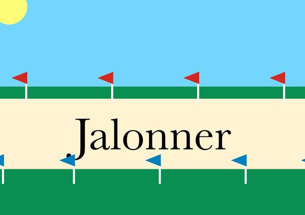 Professeur Porphyre : Jalonner