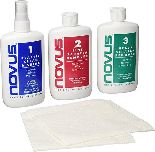 Novus Cleaner and Scratch Remover