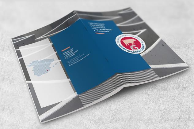 Diseño de revista de productos de ganadería