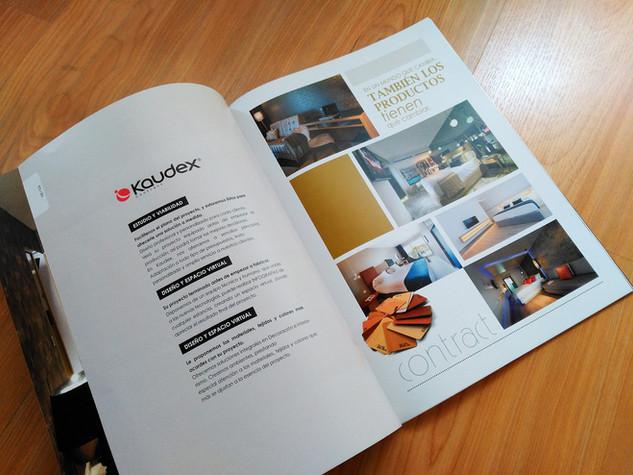 Diseño de revista publicitaria